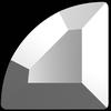 Swarovski 2715 Connector Hotfix Stones Crystal Light Chrome 3mm