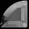 Swarovski 2715 Connector Hotfix Stones Crystal Silver Night 4mm