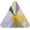 Swarovski 2716 Rivoli Triangle Flat Back Crystal AB 5mm