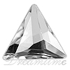 Swarovski 2720 Cosmic Delta Flat Back Crystal 7.5mm
