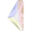 Swarovski 2738 Triangle Alpha Flat Back Crystal AB 10x5mm