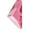 Swarovski 2738 Triangle Alpha Flat Back Crystal Dark Red 10x5mm