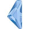 Swarovski 2738 Triangle Alpha Flat Back Light Sapphire 10x5mm