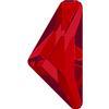 Swarovski 2738 Triangle Alpha Flat Back Light Siam 10x5mm