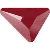 Swarovski 2739 Triangle Beta Flat Back Crystal Dark Red 7x6.5mm