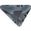 Swarovski 2739 Triangle Beta Flat Back Crystal Silver Night 7x6.5mm