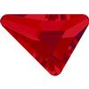 Swarovski 2739 Triangle Beta Hotfix Light Siam 5.8x5.3mm