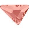 Swarovski 2739 Triangle Beta Flat Back Blush Rose 5.8x5.3mm