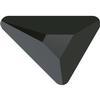 Swarovski 2739 Triangle Beta Flat Back Jet 7x6.5mm
