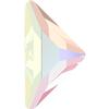 Swarovski 2740 Triangle Gamma Flat Back Crystal AB 10x10mm