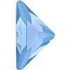 Swarovski 2740 Triangle Gamma Flat Back Light Sapphire 10x10mm