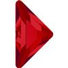 Swarovski 2740 Triangle Gamma Flat Back Light Siam 10x10mm