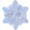 Swarovski 2753 Edelweiss Flat Back Crystal Blue Shade 10mm