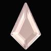 Swarovski 2771 Kite Hotfix Crystal Dusty Pink DeLite 8.6x5.6mm