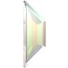 Swarovski 2772 Trapeze Flat Back Crystal AB 12.9x4.2mm