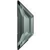 Swarovski 2772 Trapeze Flat Back Black Diamond 12.9x4.2mm