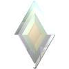 Swarovski 2773 Diamond Shape Flat Back Crystal AB 6.6x3.9mm
