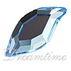 Swarovski 2797 Leaf Flat Back Aquamarine 8x4mm