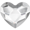 Swarovski 2808 Heart Flat Back Crystal 3.6mm