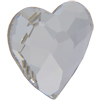 Swarovski 2808 Heart Flat Back Crystal 14mm