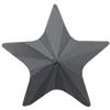 Swarovski 2816 Rivoli Star Flat Back Jet Hematite 5mm