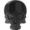 Swarovski 2856 Skull Flat Back Jet 10x7.5mm