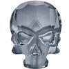 Swarovski 2856 Skull Flat Back Crystal Silver Night 10x7.5mm