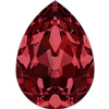 Swarovski 4320 Pear Shaped Fancy Stone Siam 14x10mm