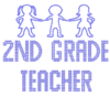 Iron On Transfer - SECOND GRADE TEACHER