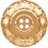 Swarovski 3008 Classic Button (4 holes) Crystal Golden Shadow 18mm