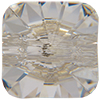 Swarovski 3009 Rivoli Square Button Crystal Foiled 10mm