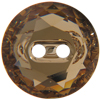 Swarovski 3014 Round Button Light Colorado Topaz 14mm