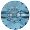 Swarovski 3015 Rivoli Button Aquamarine 16mm