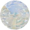 Swarovski 3015 Rivoli Button Crystal AB Foiled 10mm