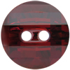 Swarovski 3016 Potato Chip Button Crystal Red Magma 12mm