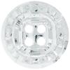 Swarovski 3018 Rivoli Button (4 holes) Crystal 18mm