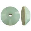 Swarovski 3128 Lochrosen Sew-on Mint Alabaster 5mm