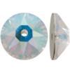 Swarovski 3188 Xirius Lochrose Crystal AB 3mm