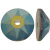 Swarovski 3188 Xirius Lochrose Crystal Iridescent Green 5mm