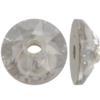 Swarovski 3188 Xirius Lochrose Crystal Silver Shade 4mm