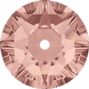 Dreamtime Crystal DC 3188 Lochrosen Blush Rose 3mm