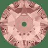 Dreamtime Crystal DC 3188 Lochrosen Blush Rose 6mm