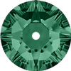 Dreamtime Crystal DC 3188 Lochrosen Emerald 5mm