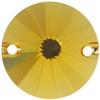 Swarovski 3200 Rivoli Sew-on Sunflower 14mm