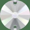 Dreamtime Crystal DC 3200 Rivoli Sew-on Crystal AB 10mm