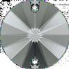 Dreamtime Crystal DC 3200 Rivoli Sew-on Crystal Silver Night 14mm