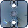 Swarovski 3201 Rivoli Square Sew-on Denim Blue 10mm