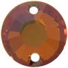 Swarovski 3204SP Round Sew-on Crystal Copper 8mm
