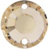 Swarovski 3204 Round Sew-on Light Silk 8mm