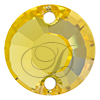 Swarovski 3204 Round Sew-on Light Topaz 12mm